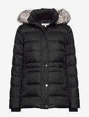 Tommy Hilfiger - NEW TYRA DOWN JKT - padded jackets - meteorite - 0