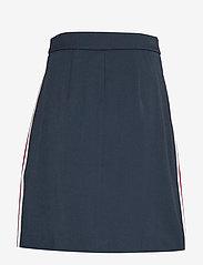 Tommy Hilfiger - DIANA MINI A-LINE SK - jupes courtes - sky captain - 1