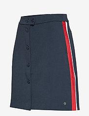 Tommy Hilfiger - DIANA MINI A-LINE SK - jupes courtes - sky captain - 2