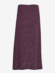 Tommy Hilfiger - KACY SKIRT WE - midi skirts - ditsy floral desert sky red - 1