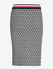 Tommy Hilfiger - CERRA SKT - midi skirts - th cube black - 1