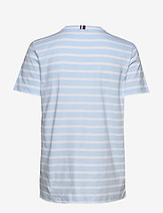 Tommy Hilfiger - TH COOL ESS RELAXED - t-shirts - breton stp / breezy blue white - 1