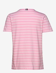 Tommy Hilfiger - TH COOL ESS RELAXED - t-shirts - breton stp /  frosted pink - 1