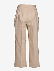 Tommy Hilfiger - SLUB COTTON CULOTTE PANT - straight leg trousers - sahara tan - 1