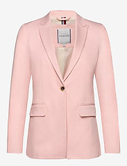Tommy Hilfiger - COTTON PASTEL SB BLA - blazers - pale pink - 0