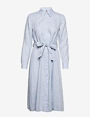 Tommy Hilfiger - TH ESSENTIAL PENELOPE DRESS LS - shirt dresses - breezy blue - 0
