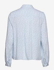 Tommy Hilfiger - DANEE HALF PLACKET BLOUSE LS - long sleeved blouses - posy prt / sail blue - 1