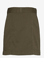Tommy Hilfiger - COTTON TWILL MINI SKIRT - jupes courtes - army green - 1