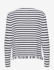 Tommy Hilfiger - TANJA RELAXED BOAT-N - striped t-shirts - breton stp / desert sky - whit - 1