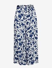 Tommy Hilfiger - PANDORA CULOTTE - wide leg trousers - joanna floral / blue - 0
