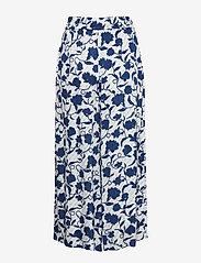 Tommy Hilfiger - PANDORA CULOTTE - wide leg trousers - joanna floral / blue - 1