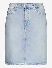 Tommy Hilfiger - ROME STRAIGHT HW SKIRT LOTA - jupes en jeans - lota - 0