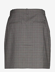 Tommy Hilfiger - Y/D POW CHECK MINI SKIRT - jupes courtes - cw check black small scale - 1