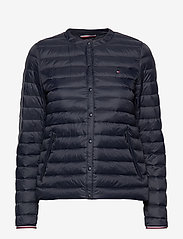 Tommy Hilfiger - BELLA LW DOWN COLLAR - padded jackets - desert sky - 0