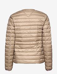 Tommy Hilfiger - BELLA LW DOWN COLLAR - padded jackets - medium taupe - 1