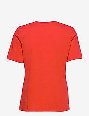 Tommy Hilfiger - REGULAR C-NK OUTLINE TEE SS - t-shirts - oxidized orange - 1