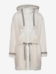 Tommy Hilfiger - ICON POLYURETHANE PARKA - manteaux de pluie - milky transparent - 0