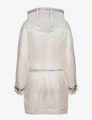 Tommy Hilfiger - ICON POLYURETHANE PARKA - manteaux de pluie - milky transparent - 1