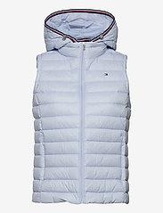 Tommy Hilfiger - TH ESS LW DOWN VEST - puffer vests - breezy blue - 0