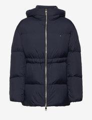 Tommy Hilfiger - NYLON DOWN PUFFER COAT - winter jackets - desert sky - 0