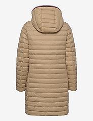 Tommy Hilfiger - TH ESS LW DOWN COAT - winter coats - beige - 1