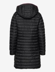 Tommy Hilfiger - TH ESS LW DOWN COAT - winter coats - black - 2