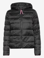 Tommy Hilfiger - TH ESS REVERSIBLE PADDED JACKET - winter jackets - black - 2