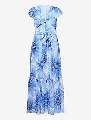 Tommy Hilfiger - ABO GIANT DAISY LONG DRESS - sommerkjoler - sweet blue/multi - 0
