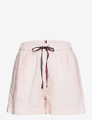 Tommy Hilfiger - ABO LINEN SHORT - shorts casual - light pink - 0
