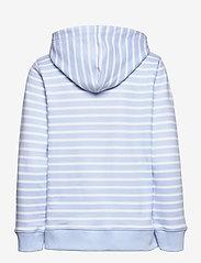 Tommy Hilfiger - ABO REGULAR FLAG HOODIE - sweatshirts & hættetrøjer - classic brenton stp/ breezy blue - 1