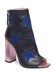 MESH STAR ANKLE BOOT - MEDIEVAL BLUE / MULTI