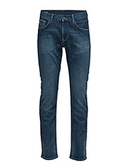 Tommy Hilfiger - DENTON B MIDDLE BLUE STRETCH - slim jeans - middle blue - 1