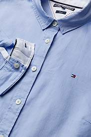Tommy Hilfiger - HERITAGE REGULAR FIT - koszule z długimi rękawami - shirt blue - 1