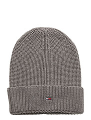 BASIC  BEANIE - 039-LIGHT GREY HEATHER