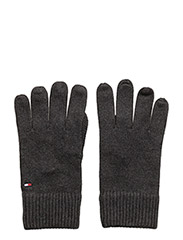 PIMA COTTON GLOVE - CHARCOAL HTR