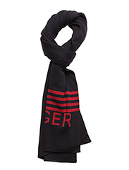 HILFIGHER SCARF - TRUE NAVY HEATHER
