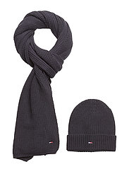 BASIC GIFTPACK SCARF - TOMMY NAVY