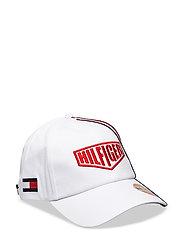 TH RACING BADGE CAP - BRIGHT WHITE