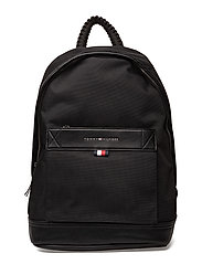 TOMMY TAILORED BACKPACK - BLACK