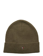 PIMA COTTON BEANIE - GRAPE LEAF