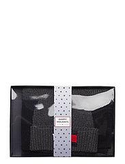 Tommy Hilfiger - BIG FLAG SCARF & BEA - bonnet - black/grey - 0