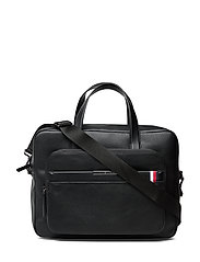 TH DOWNTOWN COMPUTER BAG - BLACK