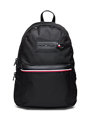 MODERN NYLON BACKPAC - BLACK