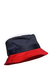 BOYS CORPORATE BUCKET HAT - TWILIGHT NAVY