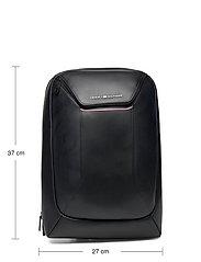 Tommy Hilfiger - TH COMMUTER TECH BACKPACK - backpacks - black - 5