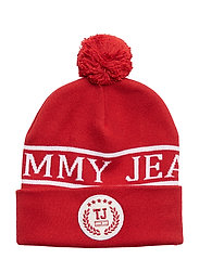 TJU COLLEGE BEANIE - TOMMY RED