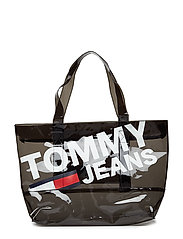 TJU SUMMER TOTE TRAN - BLACK