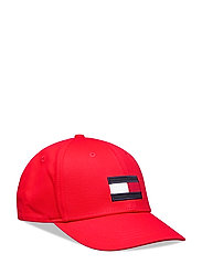 BIG FLAG CAP - RACING RED