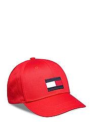 BIG FLAG CAP - DEEP CRIMSON