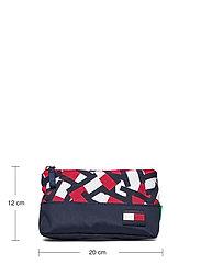 Tommy Hilfiger - BTS CORE PENCIL CASE FLAG PRINT - accessories - flag print colorblock - 4